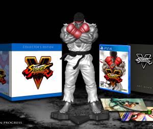 """Edição de Colecionador de """"Street Fighter V"""" inclui uma estatueta do Ryu"""