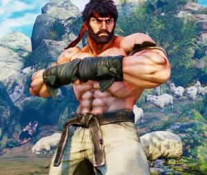 """Em """"Street Fighter V"""": Ryu terá uma opção de visual barbudo"""