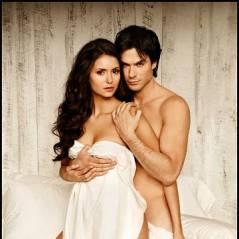 "Nina Dobrev e Ian Somerhalder, de ""The Vampire Diaries"" e outros casais que fizeram ensaios sensuais"