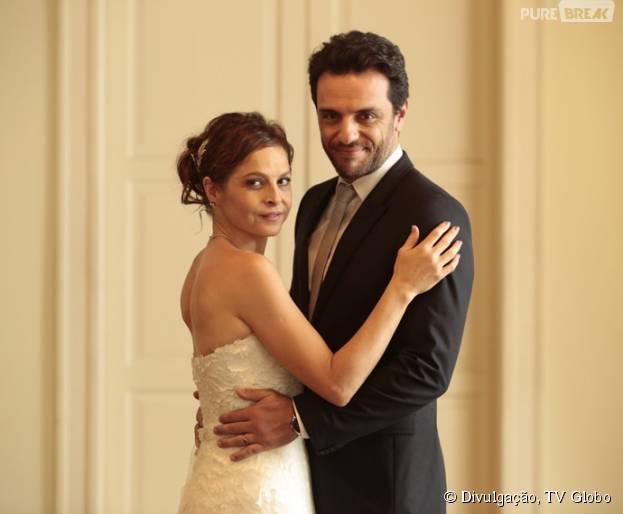 """Em """"Verdades Secretas"""", Carolina (Drica Moraes) e Alex (Rodrigo Lombardi) não terão final feliz"""