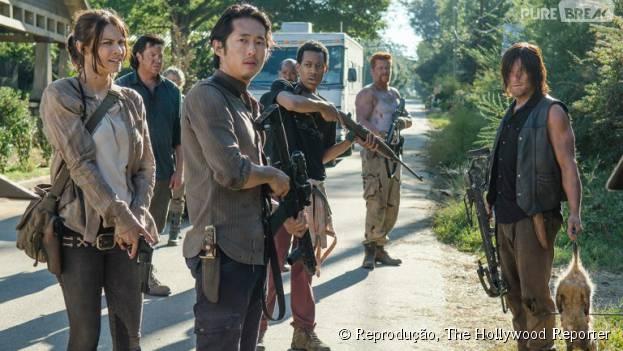 """""""The Walking Dead"""" é uma das séries que tem mais problemas com os spoilers. A produção estuda diversas opções para evitar o problema."""