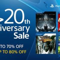 PlayStation Store comemora 20 anos do console com 80% de desconto em mais de 100 jogos