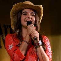 """Maitê Padilha, de """"Gaby Estrella"""", conta como concilia estudos e gravações: """"Sei a matéria toda"""""""