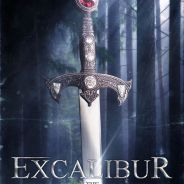 "Em ""Once Upon a Time"": na 5ª temporada, novo pôster destaca a Excalibur, espada do Rei Arthur!"