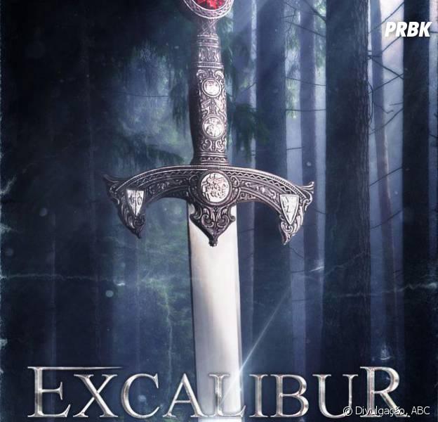 """Em """"Once Upon a Time"""": veja novo pôster que destaca a espada do rei Arthur (Liam Garrigam)!"""