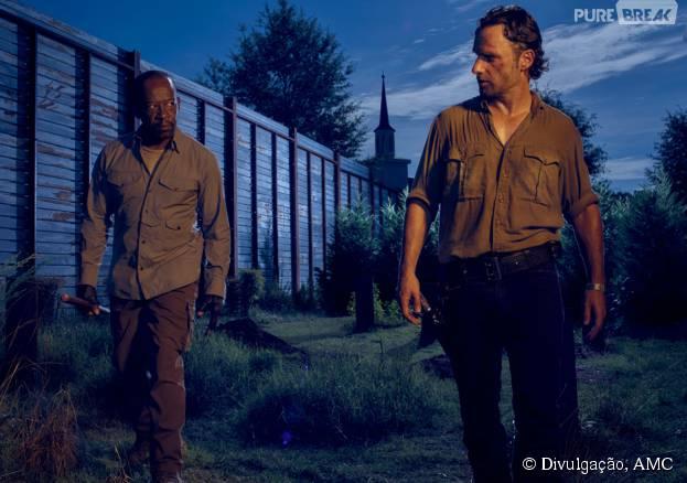 """Série """"The Walking Dead"""": veja novas imagens promocionais divulgadas pelo canal"""