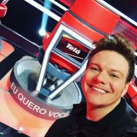 """Michel Teló, do """"The Voice Brasil"""", revela que a carreira musical não atrapalha sua vida pessoal"""
