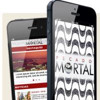 """Aplicativo de """"Pecado Mortal"""" te deixa com a cara da novela, que passa nos anos 70"""