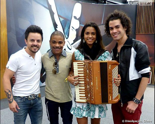 """Rubens Daniel, Pedro Lima,Lucy Alves e Sam Alves cantarão na """"The Voice Tour"""""""