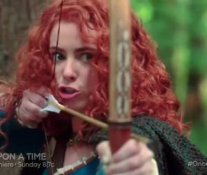 """Em """"Once Upon a Time"""": na estreia da 5ª temporada, Emma (Jennifer Morrison) quase mata Merida!"""