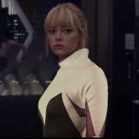 Emma Stone como uma super-heroína da Marvel? Atriz encarna Gwen Stacy Aranha em novo vídeo. Assista!