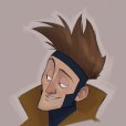 O Gambit ficou com cara de galã, né?