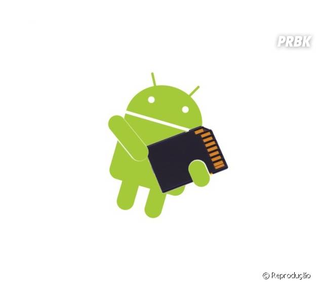 Mais espaço livre no Android: adicione um cartão de memória