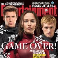 """De """"Jogos Vorazes: A Esperança - O Final"""": Katniss, Peeta e Gale estampam capa de revista. Veja!"""