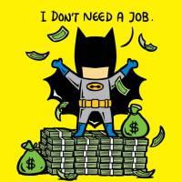 Batman, Superman, Wolverine e os trabalhos que os super-heróis poderiam fazer nas horas vagas!