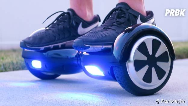 Hoverboard é a nova febre entre os famosos