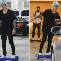 Justin Bieber, Luan Santana, Neymar, MC Gui, Biel e outros astros que aderiram à febre do hoverboard