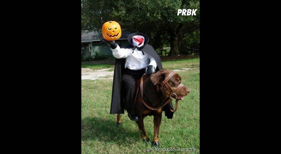 Nesse Halloween o Cavaleiro Sem Cabeça irá atacar!