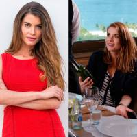 """Alinne Moraes, de """"Além do Tempo"""", elogia visual long bob da nova fase: """"Tem mais a ver comigo"""""""