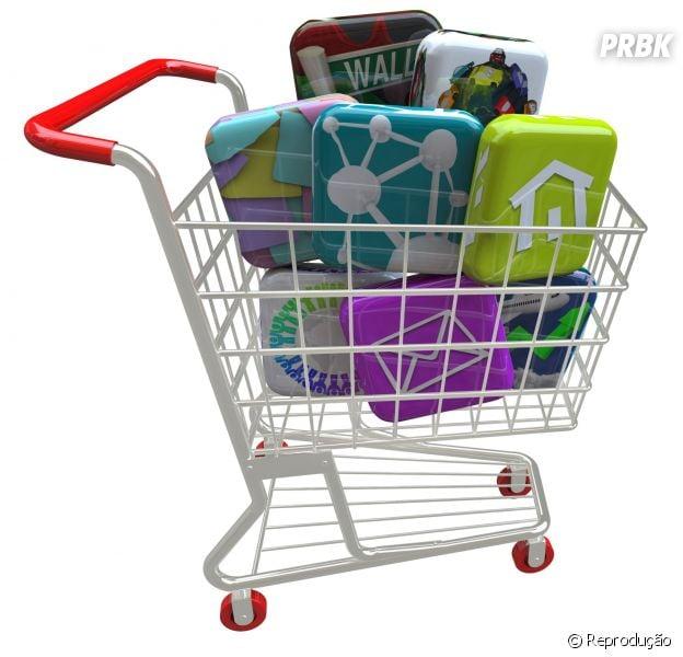 Quatro apps para fazer compras baratinhas e salvar sua mesada
