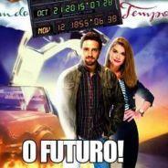 """Novela """"Além do Tempo"""": memes da despedida de Lívia e Felipe e do início da 2ª fase bombam na web!"""