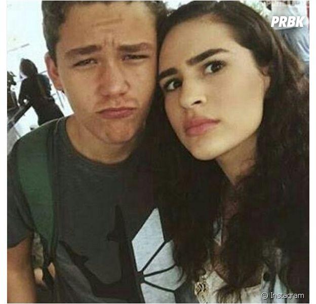 """Lívian Aragão aparece em várias fotos no Instagram de Gabriel Kaufmann, o Artur de """"Malhação"""""""