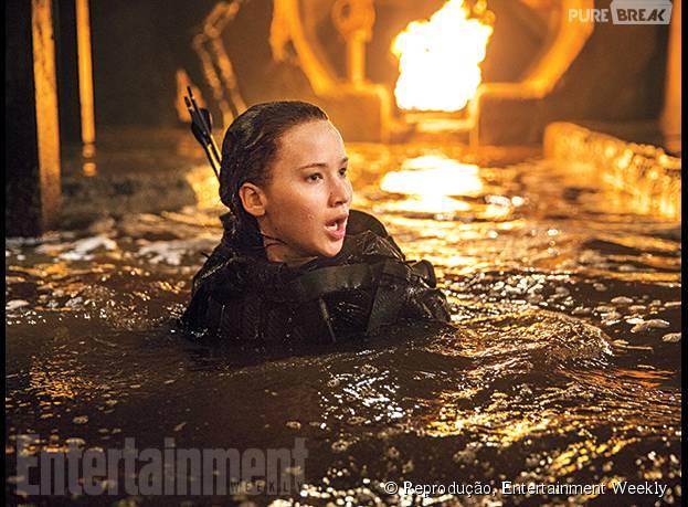 """""""Jogos Vorazes: A Esperança - O Final"""" é protagonizado por Jennifer Lawrence"""