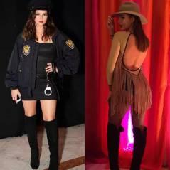 Bruna Marquezine de policial sexy ou cowgirl? Qual fantasia de Halloween da atriz você mais curtiu?