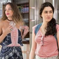 """De """"Totalmente Demais"""": Olívia Torres e Juliana Paiva serão irmãs na nova novela das 19h"""