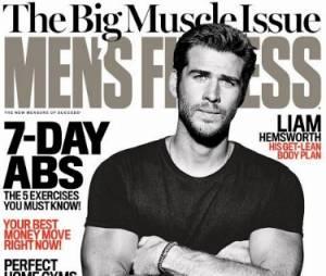 Liam Hemsworth na capa da revista Men's Fitness