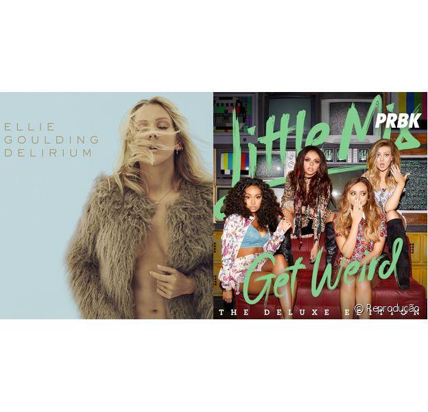 """Ellie Goulding e Little Mix lançam novos álbuns! Ouça todas as músicas do """"Delirium"""" e """"Get Weird"""""""