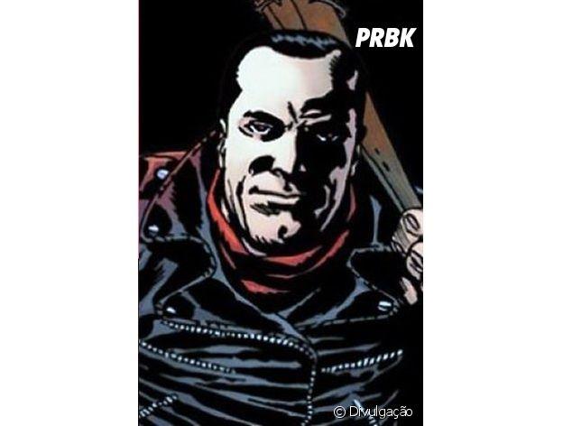 """Em """"The Walking Dead"""", Negan é conhecido pelas histórias em quadrinhos e será interpretado por Jeffrey Dean Morgan!"""