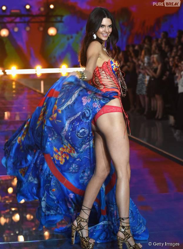 Kendall Jenner brilhou na gravação do Victoria's Secret Fashion Show 2015