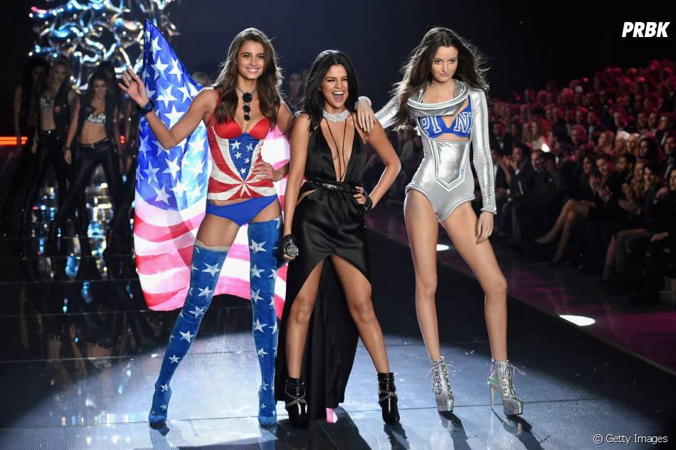 Selena Gomez podia ser uma angel do Victoria's Secret Fashion Show 2015, concordam?