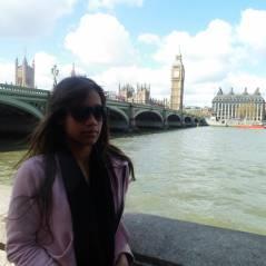 Intercâmbio: Priscila Alves escolheu Londres para realizar o sonho de infância