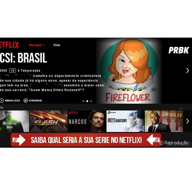 Teste do Facebook mostra qual série do Netflix combina com você