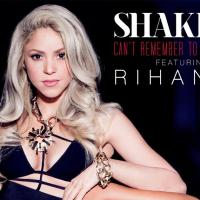"Rihanna e Shakira lançam o dueto ""Can't Remember To Forget You"""
