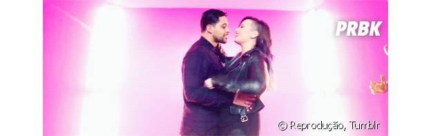 Demi Lovato e Wilmer Valderrama mostram como você reage nos primeiros meses de namoro (
