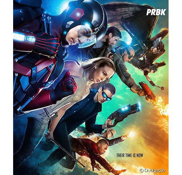 """Spin-off de """"The Flash"""" e """"Arrow"""", """"Legends of Tomorrow"""" ganha imagem promocional com toda a equipe!"""