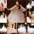 """Larissa Manoela, atriz de """"Cúmplies de um Resgate"""", mostra detalhes da festa de 15 anos"""