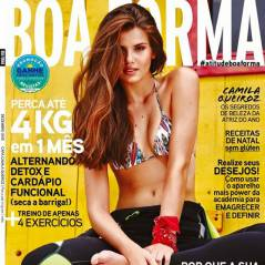 Camila Queiroz surge de biquíni e muito sensual na revista Boa Forma. Veja capa!