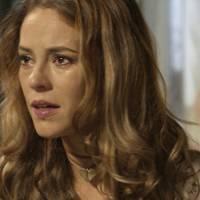 "Novela ""Além do Tempo"": Melissa (Paolla Oliveira) se descontrola ao ser perguntada sobre gravidez"