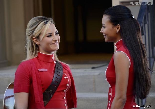 "Demi Lovato viveu Dani em ""Glee"""