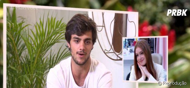 """Marina Ruy Barbosa ganha homenagens do elenco de """"Totalmente Demais"""" no """"Mais Você"""""""