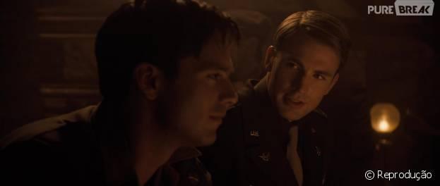 """Será que Steve Rogers (Chris Evans) e Bucky (Sebastian Stan) têm algum relacionamento amoroso em """"Capitão América 3""""?"""