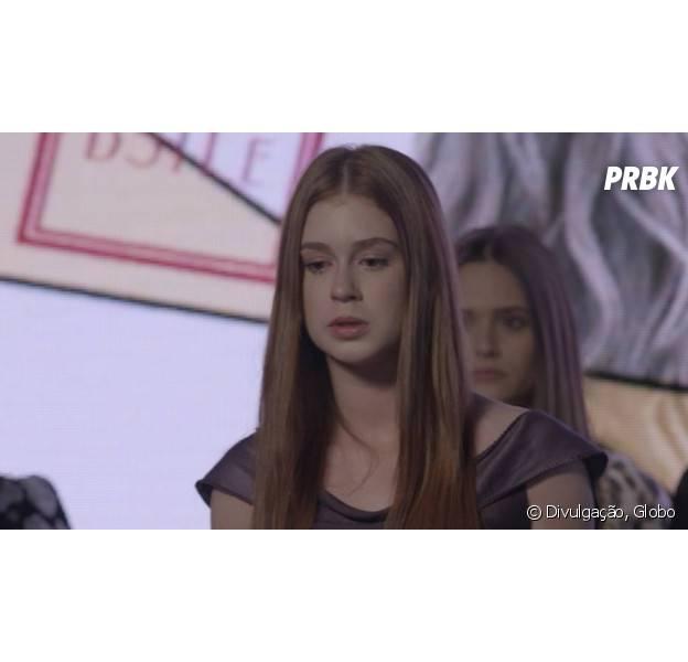 """Em """"Totalmente Demais"""": Eliza (Marina Ruy Barbosa) descobre que Jonatas (Felipe Simas) foi preso e pensa em abandonar concurso!"""