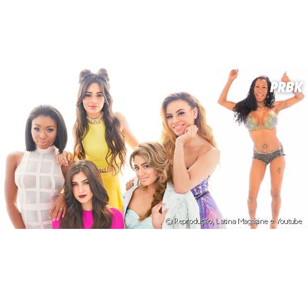 Hasgtag brinca com Inês Brasil e Fifth Harmony no Twitter