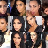 """Kim Kardashian elege suas selfies favoritas de 2015: """"Amo ter todas essas memórias"""""""