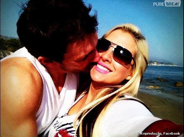 """Clara do """"BBB 14"""" é casada com o empresário francês Fabian Aguilar"""