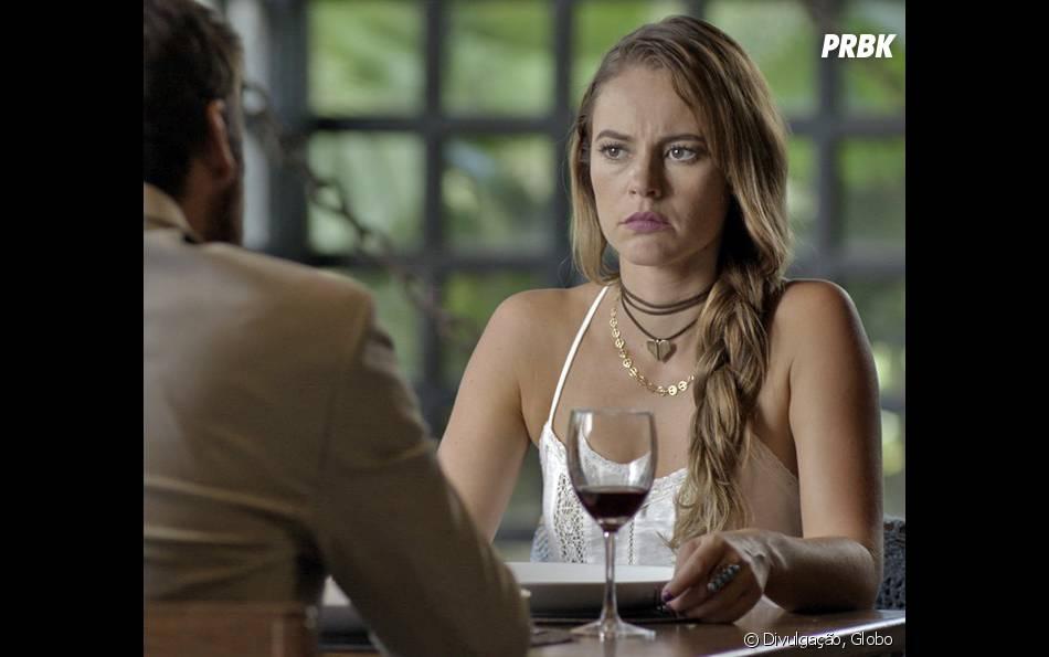 """Em """"Além do Tempo"""", Melissa (Paolla Oliveira) e Pedro (Emílio Dantas) colocam último plano em ação após descobrirem que Felipe (Rafael Cardoso) conseguiu a guarda de Alex (Kadu Schons)"""